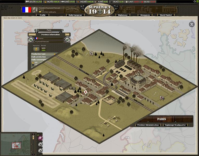 world war browsergame